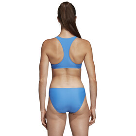 adidas Fit 3-Stripes Infinitex Bikini Femme, true blue